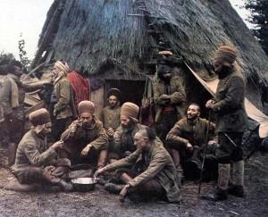 5. Soldats nord-africains au bivouac en 1917