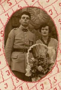 Menu du  21 août 1926 – Mariage (Béroud)
