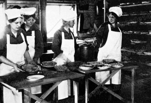 Cuisinières de l'Armée du salut (Gondrecourt)