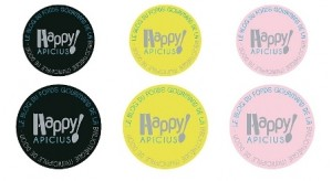 Badges Happy Apicius détails