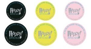 Badges Happy Apicius détails