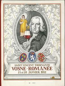 Banquet des vignerons pour la Saint-Vincent tournante