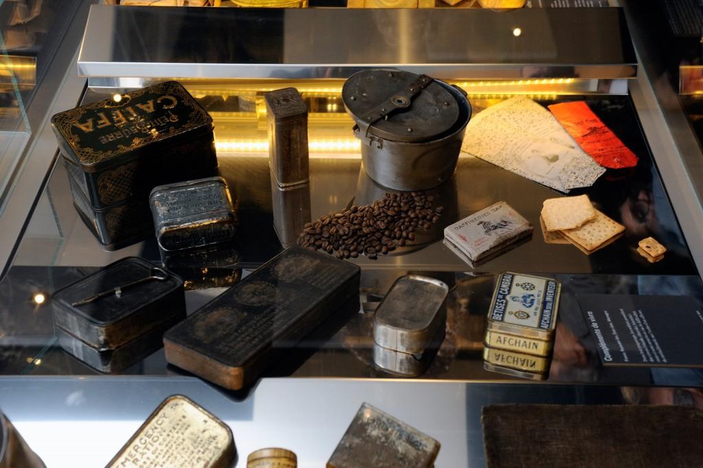 Objets présentés au Musée de la Grande Guerre de Meaux