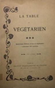 table-végétarien