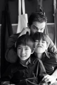 Laurent Peugeot en famille ©Laurent_Peugeot