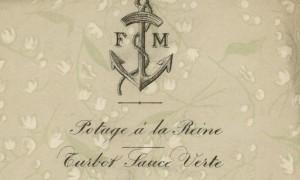 Menu: 10 décembre 1887 (fonds Muteau)