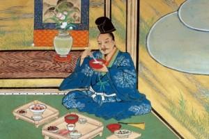 Des merites compares du riz et du sake © BnF