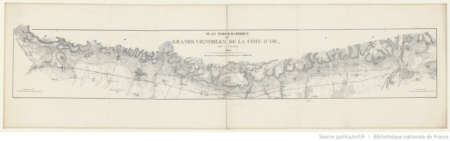 Plan topographique Lavalle 1855