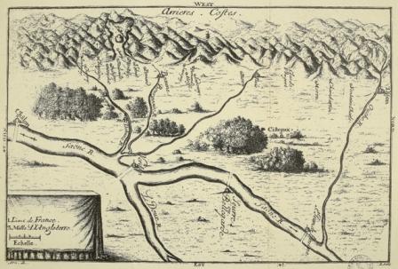 Carte de la côte bourguignonne (L I 13889)