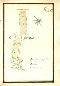 Atlas des plans d'un domaine situé à Savigny..., 1796