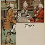 Menus publicitaire van Houten M III 1610