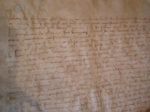 Ordonnance de Philippe le Hardi contre le gamay, Archives municipales de Beaune, cote : carton 94-7