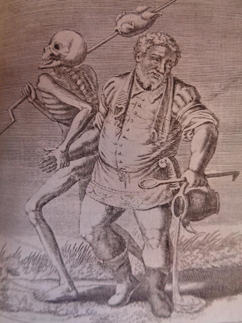 La mort du cuisinier 15860 La danse macabre 15860 18e