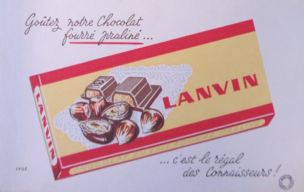 Lanvin publicite