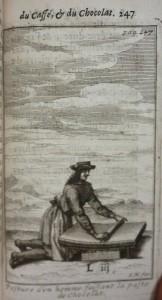 Le bon uasge du thé, 1687, cote 1767 pate