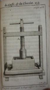 Le bon uasge du thé, 1687, cote 1767 pressoir
