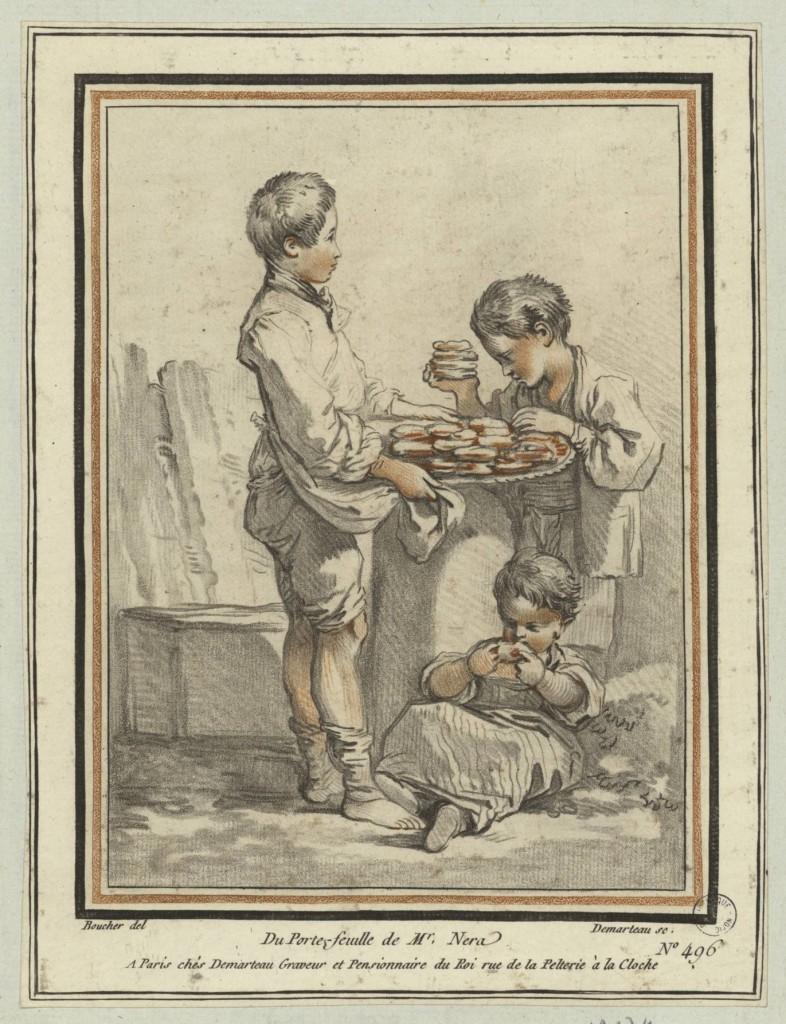 Recueil factice;Le marchand de biscuits